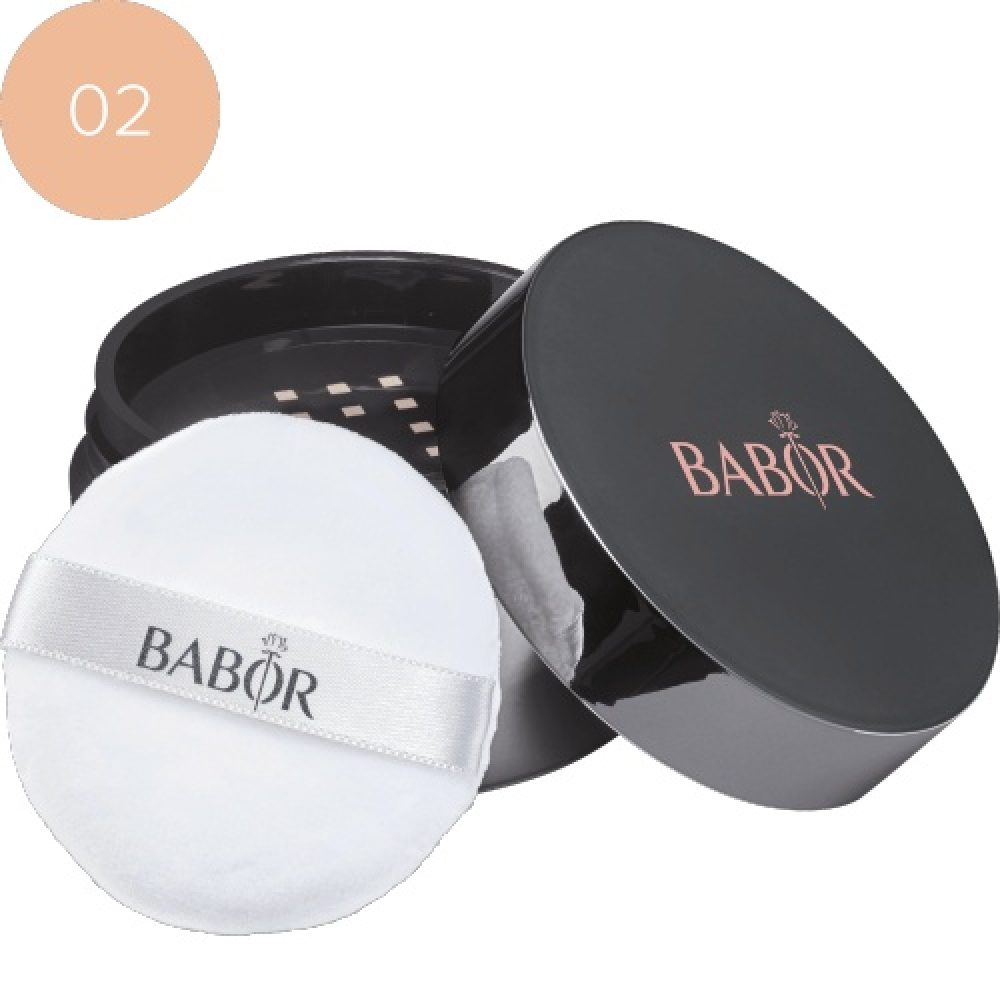 BABOR Foundation Mineral Powder Foundation 02 medium voor de gevoelige huid